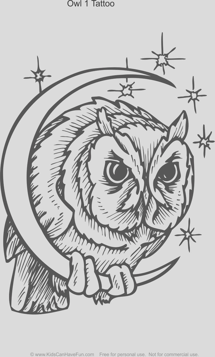 tattoo coloring pages for kids and adults