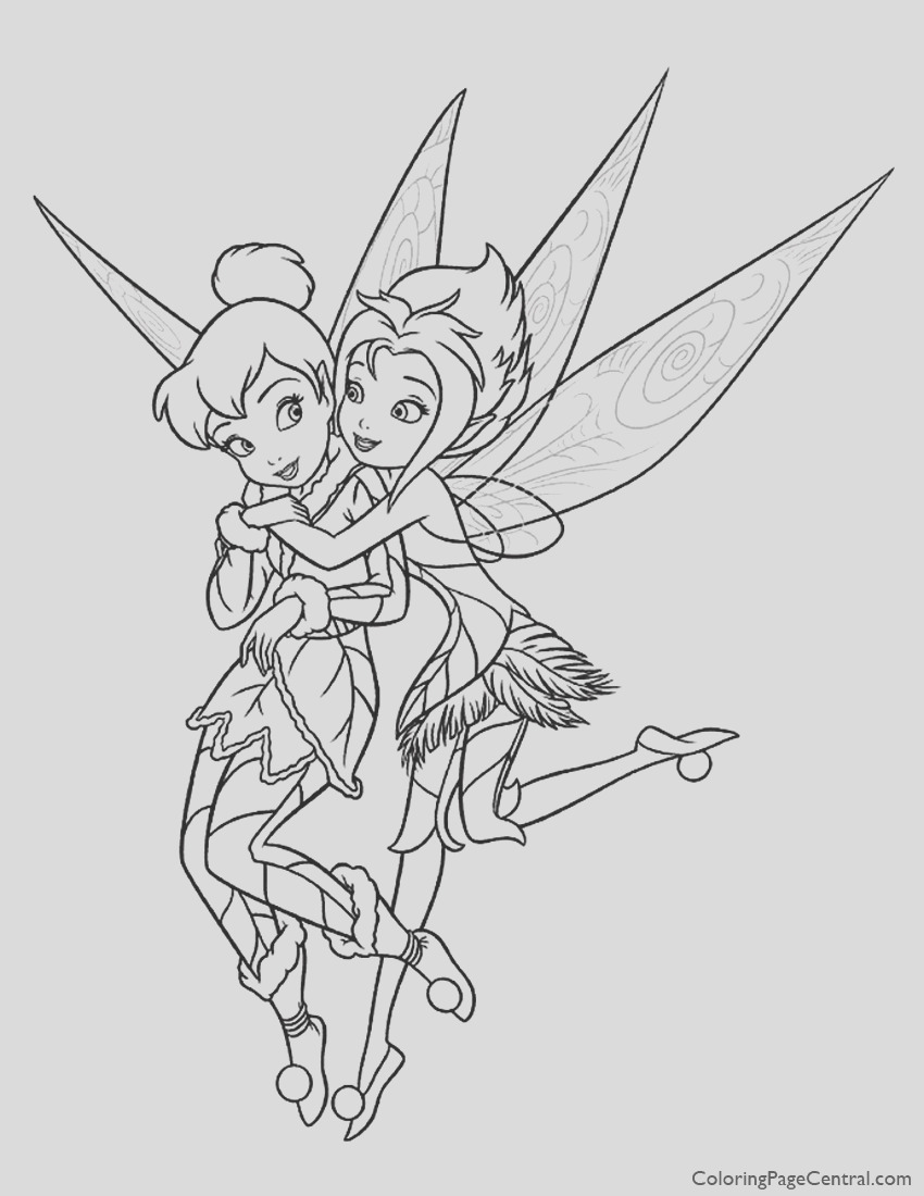 tinkerbell periwinkle 01 coloring page