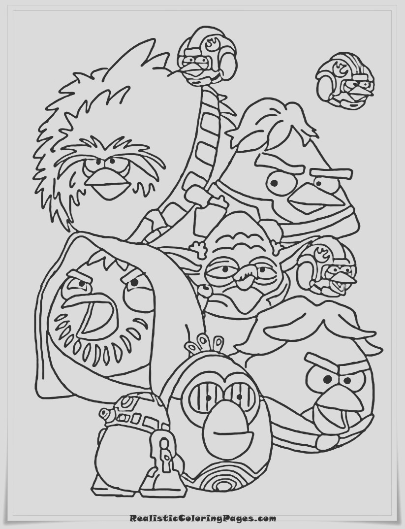 angry birds epic coloring pages