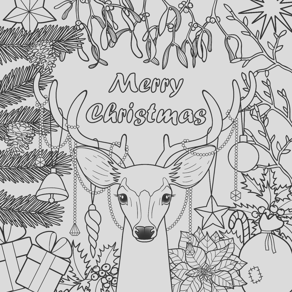 Christmas Coloring Pages 16 Printable Coloring Pages for the Holidays