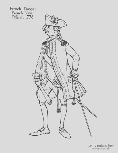 sol rs of the american revolution coloring pages 11 historic uniforms coloring guides