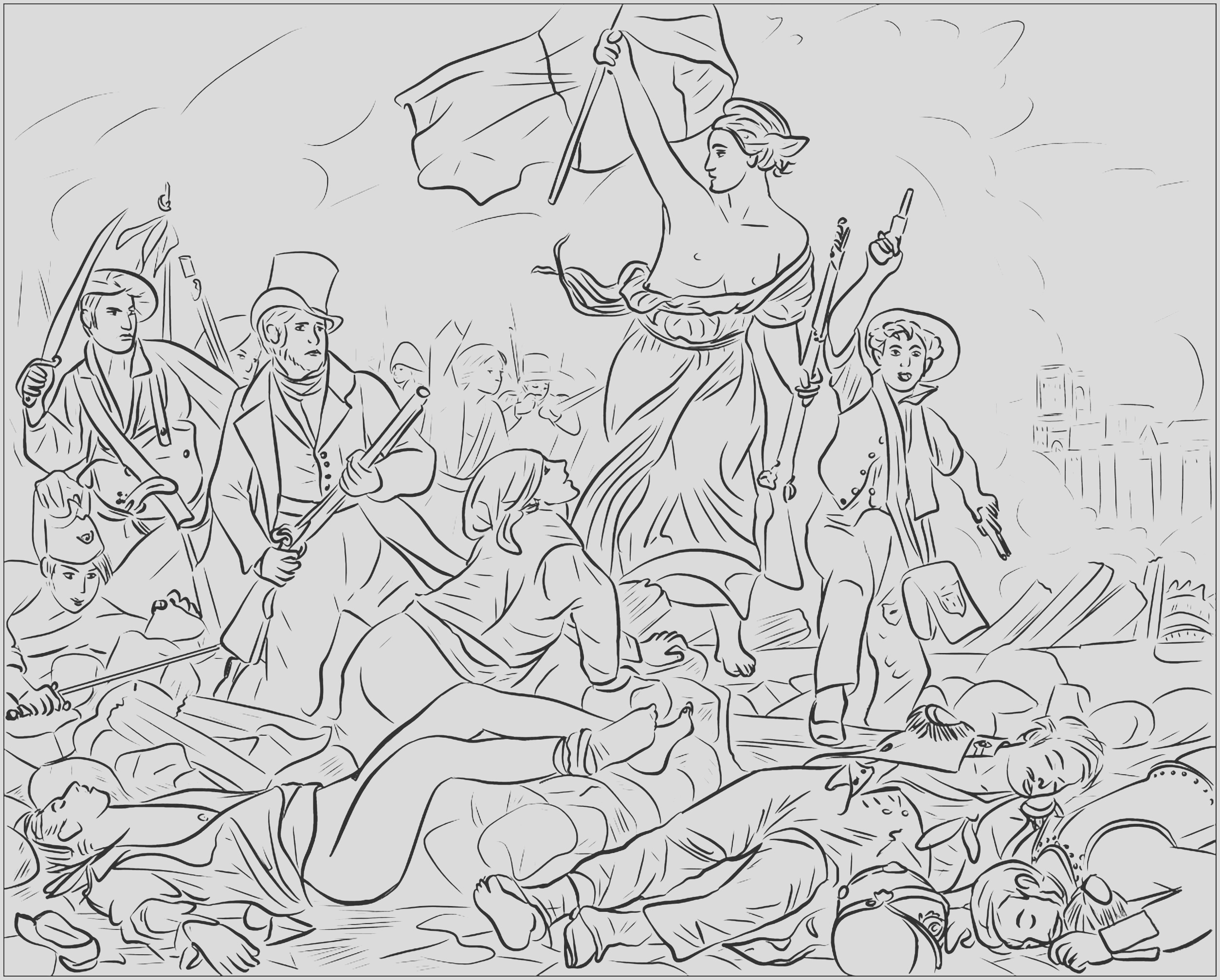 image=art coloring liberty leading the people 1